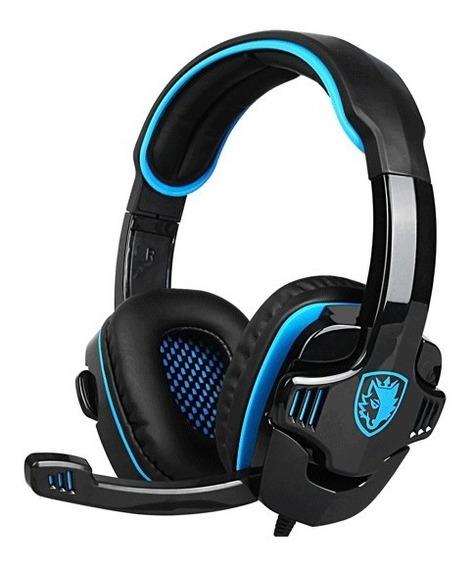 Auriculares Sades Sa-708gt Gamer Con Micrófono Zonatecno