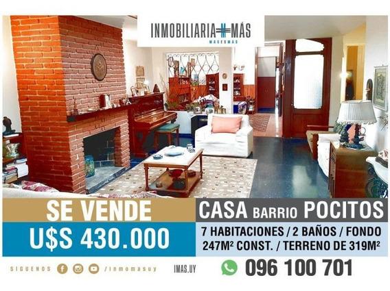 7 Dormitorios Casa Venta Pocitos Montevideo L