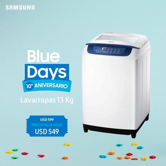 Lavarropas Samsung 13kg Carga Sup Garantía Oficial Samsung
