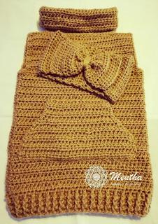 Bebés Y Niñas/os: Chaleco + Vincha !! Lana/crochet