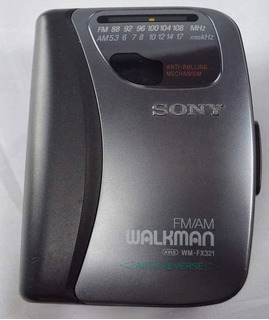 Sony Wm-fx321am/fm Stereo Walkman Con Auto Revrse