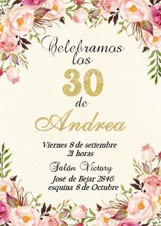 Tarjetas De Cumpleanos De 15 Años En Mercado Libre Uruguay