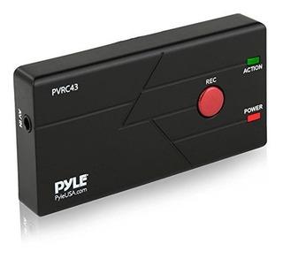 Pyle Game Capture Grabadora De Tarjetas - Vhs Dvd Vcr Video