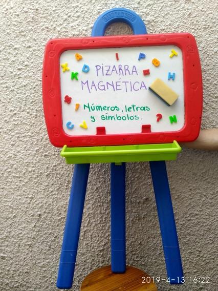 Pizarra Doble Para Dibujo Magnetica Con Abecedario