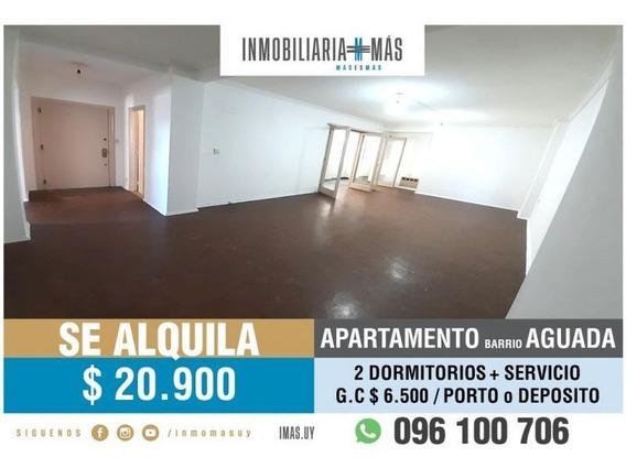 Apartamento Alquiler Aguada Montevideo Inmobiliaria Mas R *