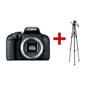 Camara Canon Eos Rebel T7i 24 Mp Wifi Nfc 1080p Only Body