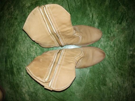 Botas De Cuero 38