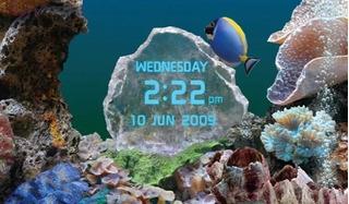 Protector De Pantalla Acuario Peces Corales Marino Para Pc