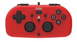 Hori Mini Gamepad Cableado Rojo Rojo Playstation 4