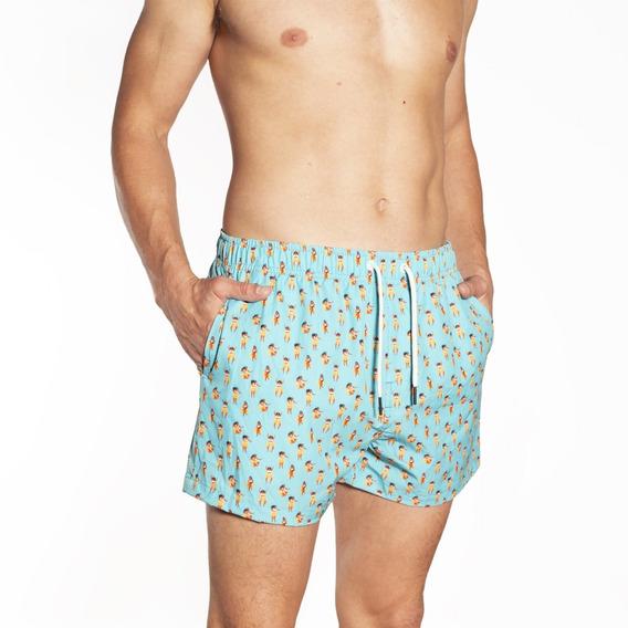 Short De Baño Hombre Crouch - Hula Hula