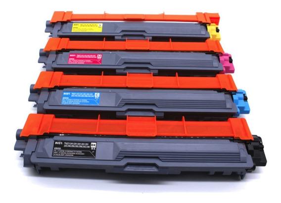 Toner Compatible Bro 221 / 225/ 9020/ 3150. Pack De 4