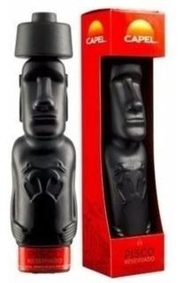 Pisco Capel Resevado Moai 40⺠750 Ml