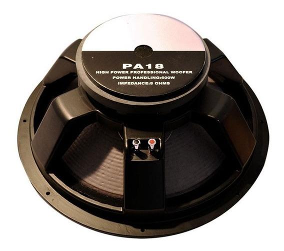 Parlante Subwoofer 18 Leea Pa18 600 W Rms Bafle Sub Dj Audio