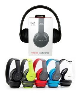 Audifonos Bluetooth P47 Stereo 6 Horas De Autonomia
