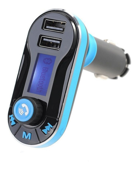 Transmisor Fm Bluetooth Mp3 Sd Usb Manos Libres P/ Auto ® Ty