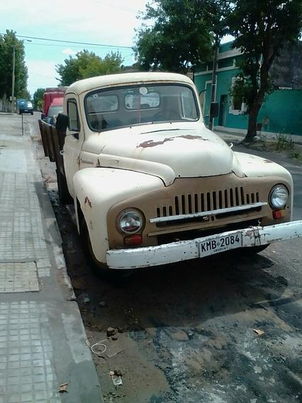 Internacional Año 54 Viendo Camioneta Int