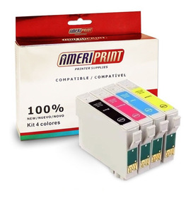 4 Cartuchos Compatibles Epson T 297 296 Xp231 241 431 441