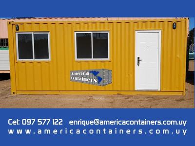 Oficina Contenedor 20 Pies (15m2) - Ideal Para Empresas