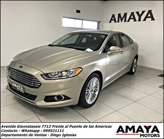 Ford Fusion 2.0 240hp, Entrega Inmediata!!!amaya Motors