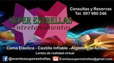 Alquiler Castillo Inflable, Cama Elástica, Algodón De Azúcar