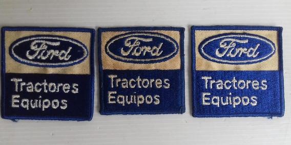 Escudo Ford Parche Tractores Equipos Bordado Unico Dueño C/u