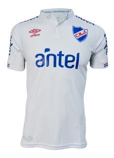 Camiseta Nacional Umbro 2019 Oficial Niño Con Sponsor - Auge