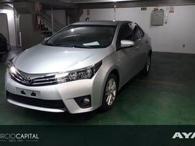 Toyota Corolla Xei Manual 2016 Gris Plata Excelente Estado