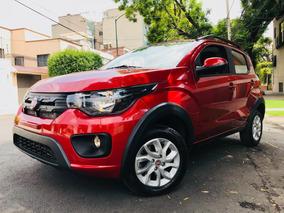 Hermosa Y Simpatica ! Fiat Mobi 2017 Way Equipadita
