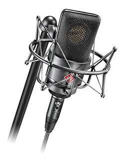 Neumann Tlm103 Black Cardioid Microphone W Mount Cas