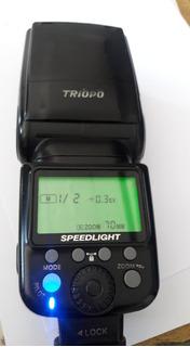 Flash Triopo 980 I-ttl Lcd Color P/ Cámaras Nikon
