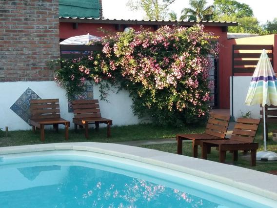 Casas Alquiler Temporada - Piscina - 200 Mts Playa