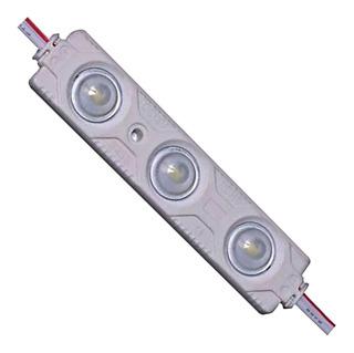 Modulo De 3led // Ip68 P/exterior C/cinta Adhesiva