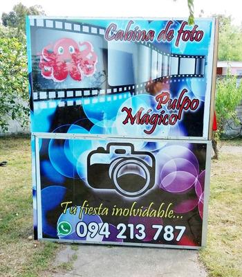 Cabina Fotográfica, Foto-cabina, Cabina De Fotos, Alquiler