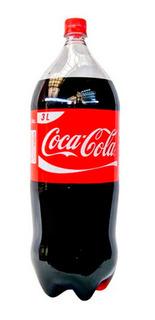 Coca Cola 3litros Funda X 6, 12 Cuotas Por Mercadopago