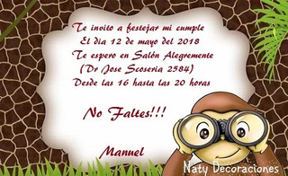 Invitacion De Jorge El Curioso En Mercado Libre Uruguay