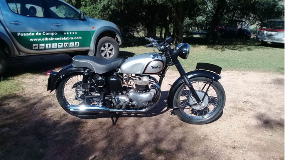 Norton Dominator 500cc Twin 1954 Clásica Antigua Colección