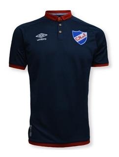 Camiseta De Nacional Azul 2018 Del Hincha Fútbol Niños