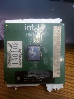 Procesador Intel Celeron 800 Mhz/128/100 Mhz Socket 370