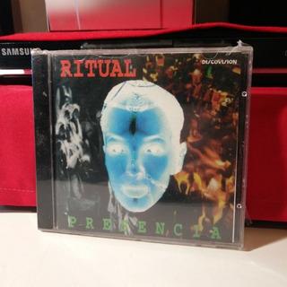 Ritual (eduardo Mateo) Presencia Cd 1ra Edicion Raro, Nuevo