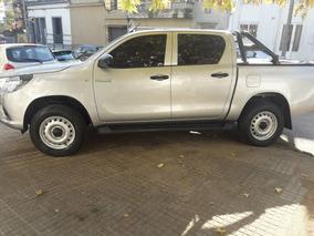 Toyota Hilux Dx 2.7 Nafta 2017. Como Nueva!!