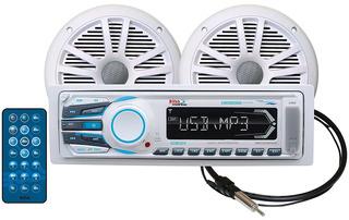 Boss Audio Mck1308wb.6 Receiver / Speaker Package,
