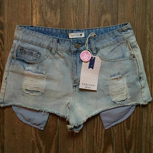 1aa79ee67b69 Bermuda De Jeans Talle 36 - Ropa, Calzados y Accesorios Celeste en ...