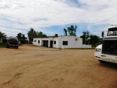 Alquilo Terreno Sobre Ruta 5 Con Casa, Deposito Y Oficinas.
