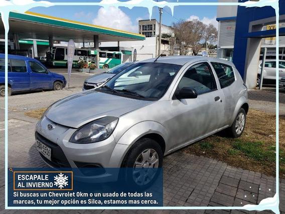 Ford Ka 2013 Gris Plata 3 Puertas