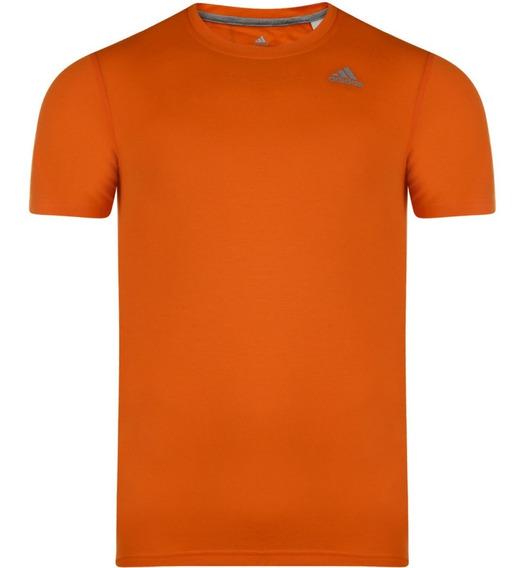 Remera adidas Climalite, Color Naranja 2xl, Para Hombre