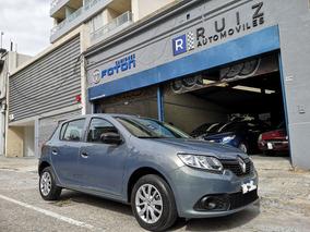 Renault Sandero 1.6 Authentique 2017 Inmaculado
