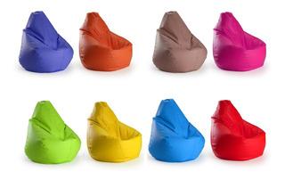 Puff En Divertidos Colores Variedad De Diseños Oferta - Mweb