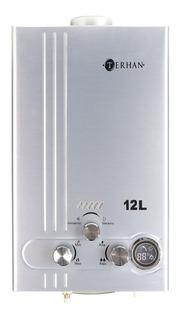 Calentador Instantáneo Supergas Terhan 12l Inox Calefon