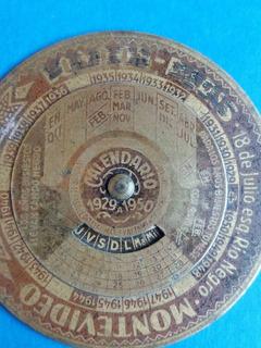 Calendario 1929.Antiguo Calendario 1929 1950 London Paris En Mercado Libre
