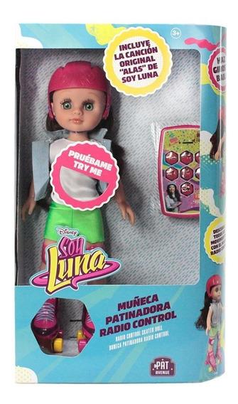 Muñeca Patinadora Soy Luna, Con Control Remoto - Stickers